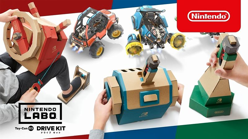 『Nintendo Labo Toy-Con 03: Drive Kit(ドライブ キット)』