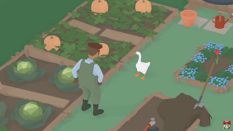 『Untitled Goose Game』