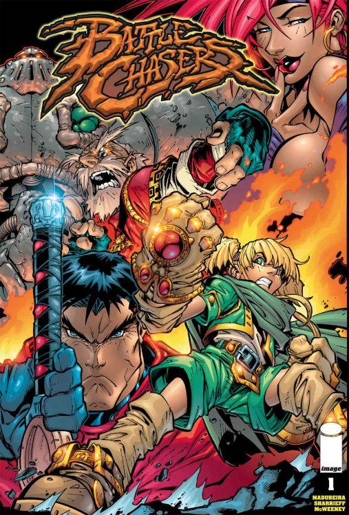 『Battle Chasers』コミック版