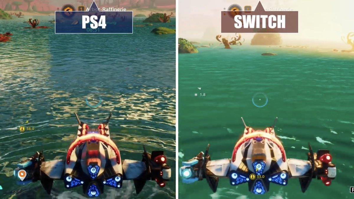 『スターリンク バトル・フォー・アトラス』Switch版/PS4版 比較1