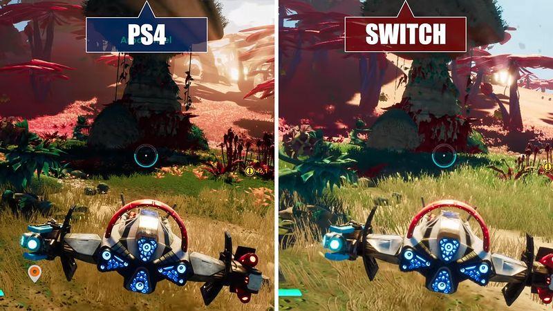 『スターリンク バトル・フォー・アトラス』Switch版/PS4版 比較