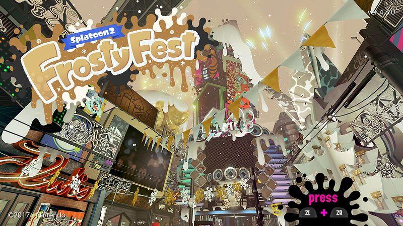 『スプラトゥーン2』「Frosty Fest」