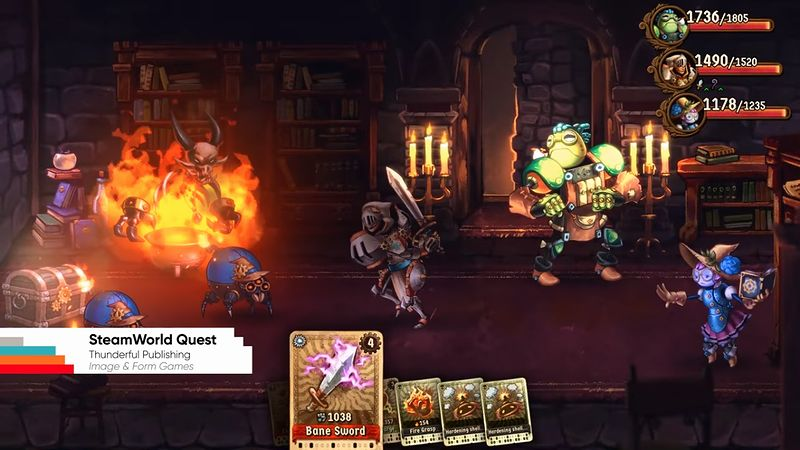 『SteamWorld Quest』