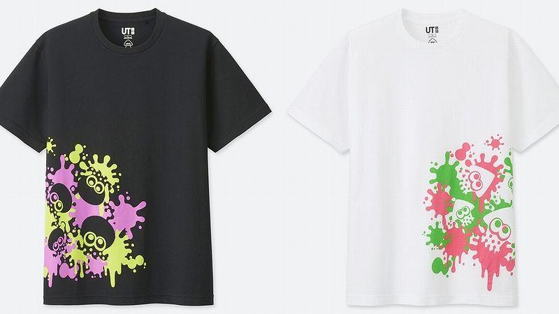 ユニクロ『スプラトゥーン』デザインTシャツ
