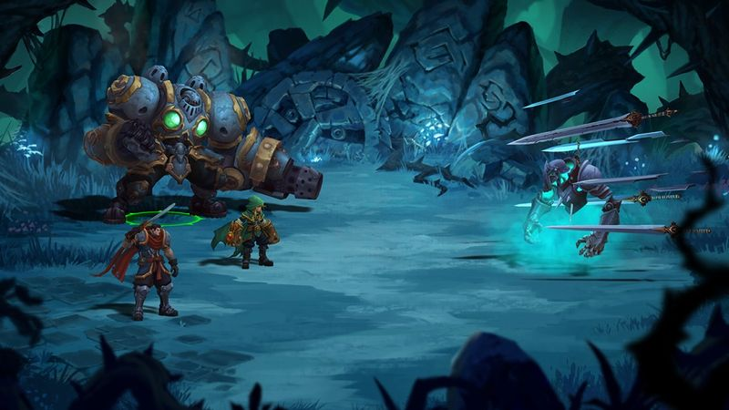 『Battle Chasers: Nightwar』SS