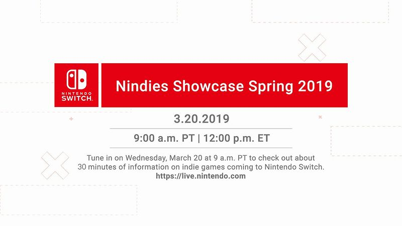 「Nindies Showcase Spring 2019」