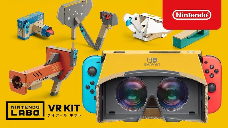 『Nintendo Labo Toy-Con 04:VR Kit』