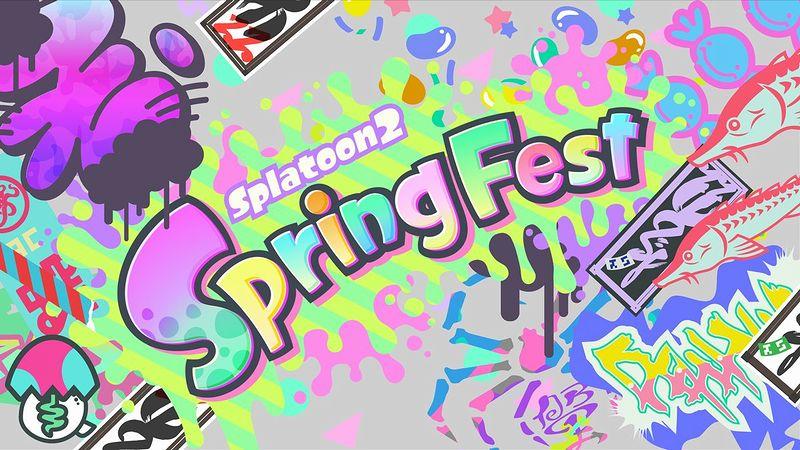 『スプラトゥーン2』「Spring Fest」
