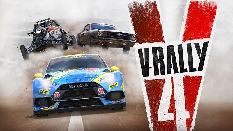 『V-Rally 4(Vラリー4)』