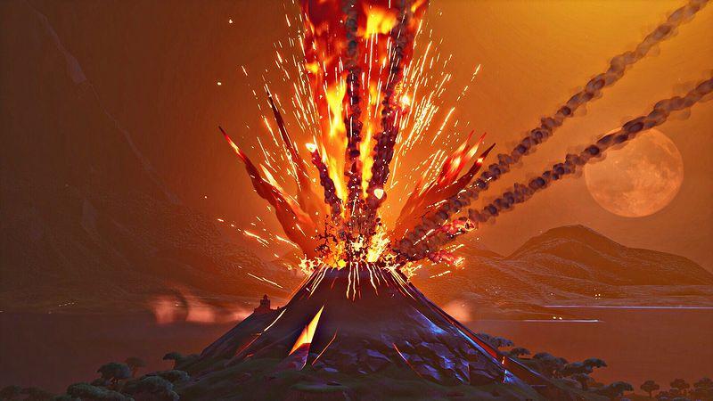 ピーク 火山 ポーラー Sarychev Volcano