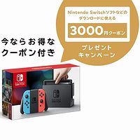 Nintendo Switch 本体【Joy-Con (L) ネオンブルー/ (R) ネオンレッド】+ ニンテンドープリペイド番号3000円分