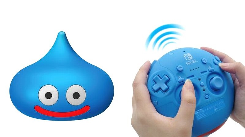 『ドラゴンクエストスライムコントローラー for Nintendo Switch』