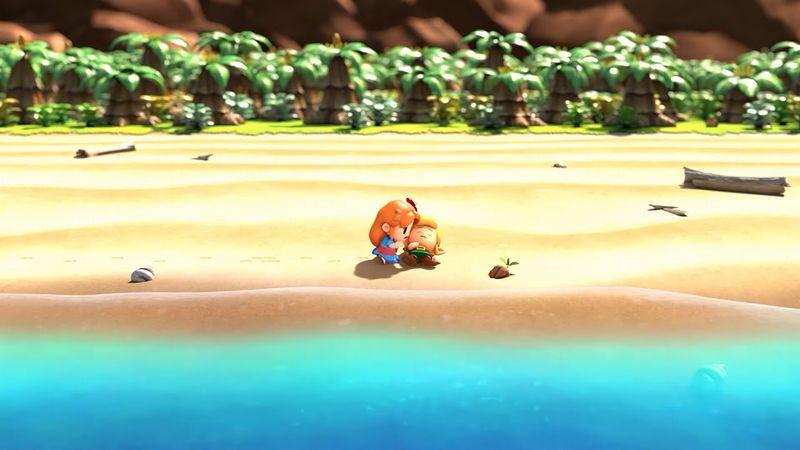 『ゼルダ 夢をみる島』1