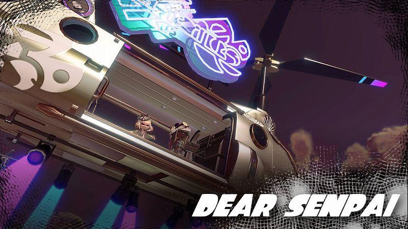 『スプラトゥーン2』「DEAR SENPAI」