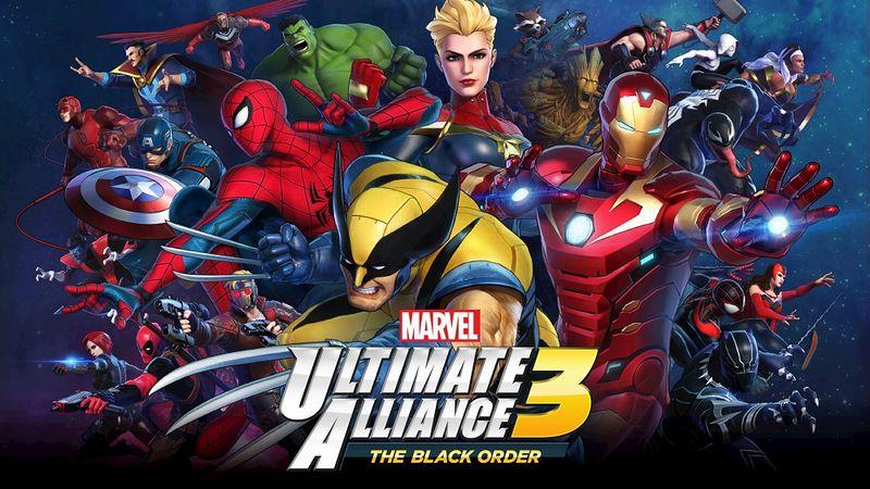 『MARVEL ULTIMATE ALLIANCE 3』
