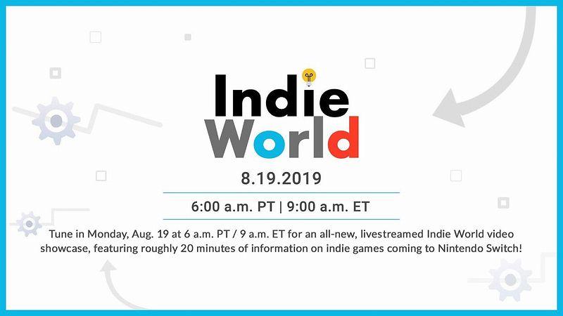 『Indie World Showcase 8.19.2019』