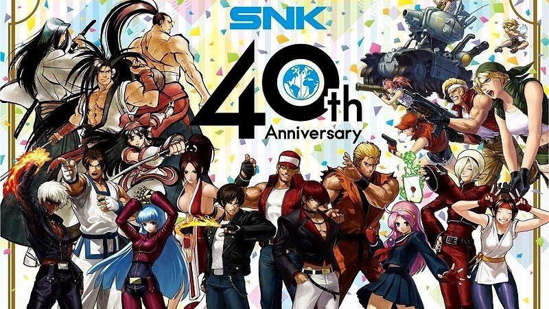 『SNK』40周年