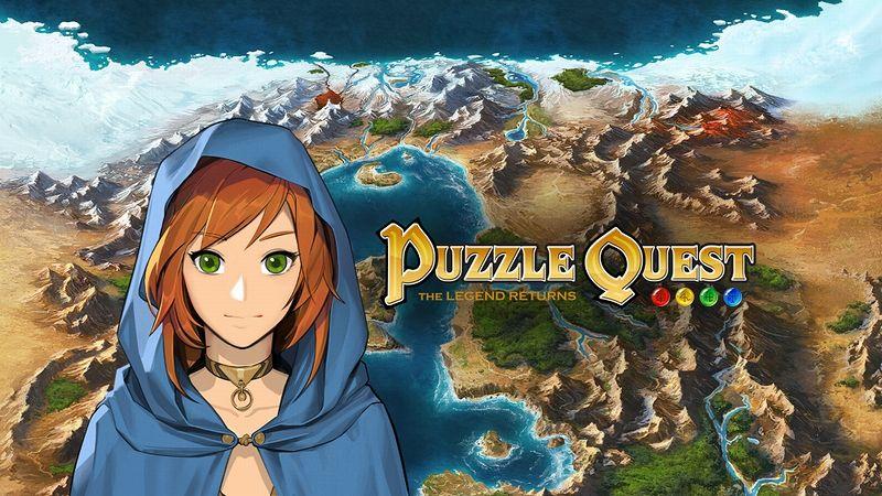 『Puzzle Quest:The Legend Returns』