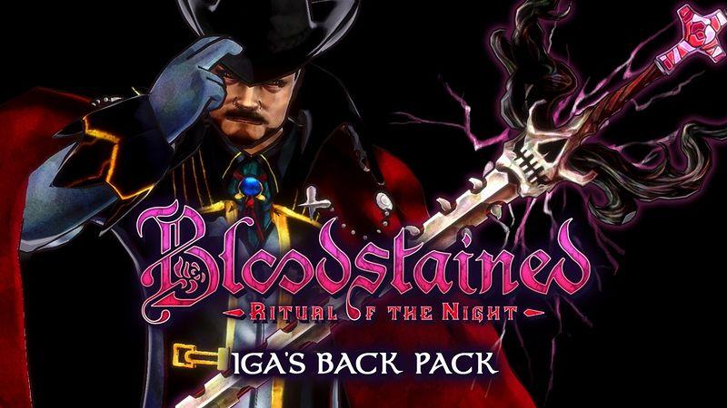 『ブラッドステインド:リチュアル・オブ・ザ・ナイト IGA's Back Pack DLC』