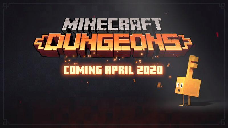 『Minecraft DUNGEONS』2020年4月