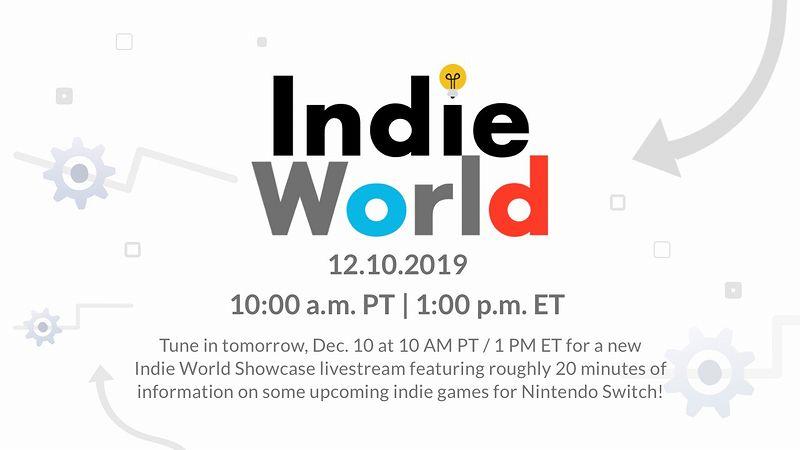 『IndieWorld 12.10.2019』