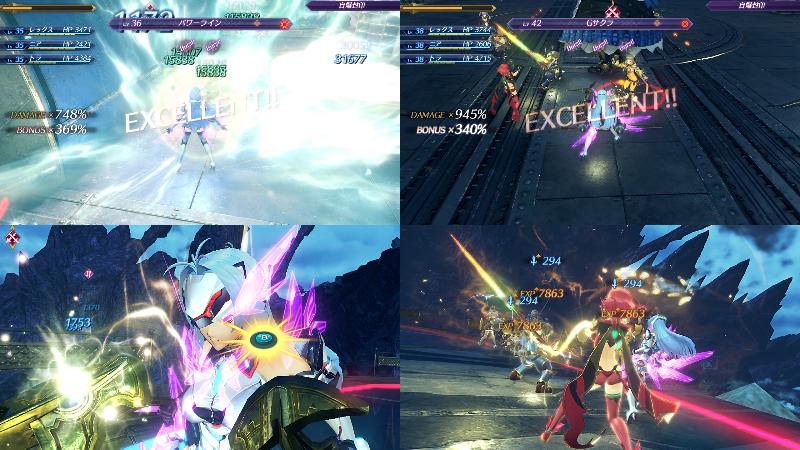 『ゼノブレイド2』KOS-MOS Re・バトル