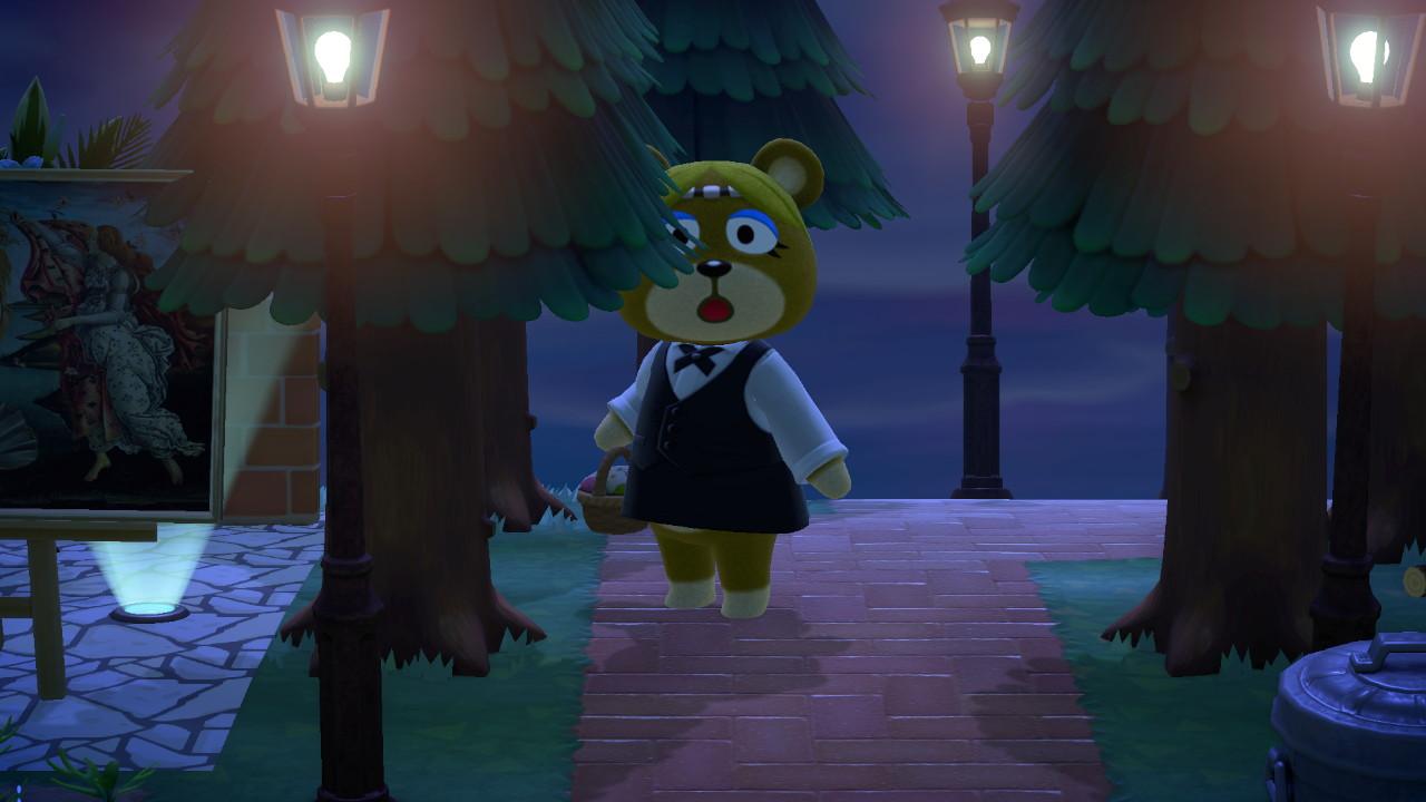 『あつまれ どうぶつの森』レイチェル1