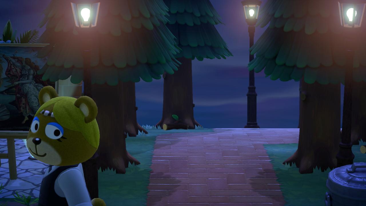 『あつまれ どうぶつの森』レイチェル3