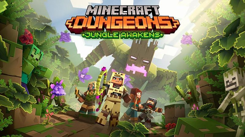 『Minecraft Dungeons』「Jungle Awakens」