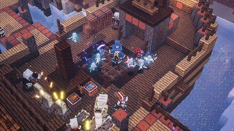 『Minecraft Dungeons』