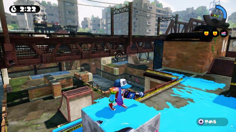 Wii U『スプラトゥーン』ネギトロ炭鉱