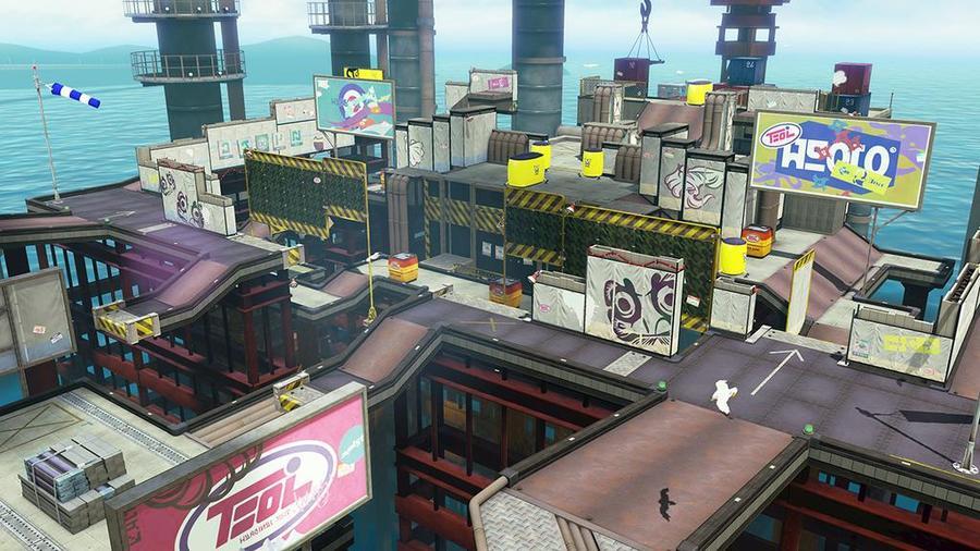 Wii U『スプラトゥーン』シオノメ油田