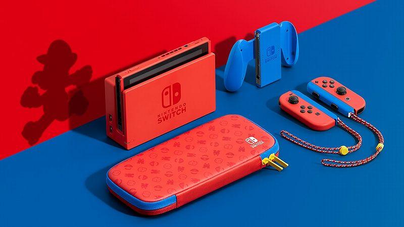 『Nintendo Switch マリオレッド×ブルー セット』