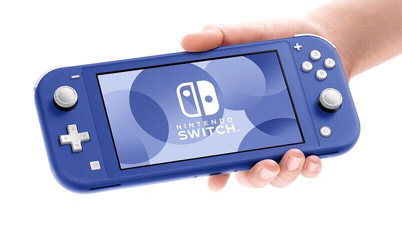 『NintendoSwitch Lite ブルー』