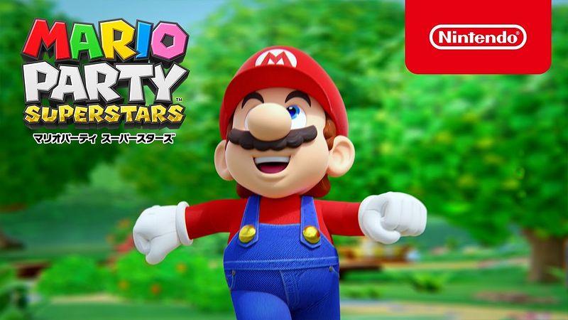 『マリオパーティ スーパースターズ』CM「ゲーム画面篇」