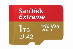 SanDiskから発売されている「microSDカード 1TB」お値段、なんと…