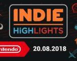 【速報】NintendoUKより今後発売予定のインディーズゲームを紹介する『Indie Highlights - 20.08.2018』の動画が公開!『モーフィーズ・ロウ』海外では本日から配信開始!