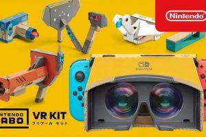 『Nintendo Labo VR KIT』が発売!発売後の反応・感想まとめ 「思った以上にVRしてる」「レンズがミソで他の市販品では代替できない」